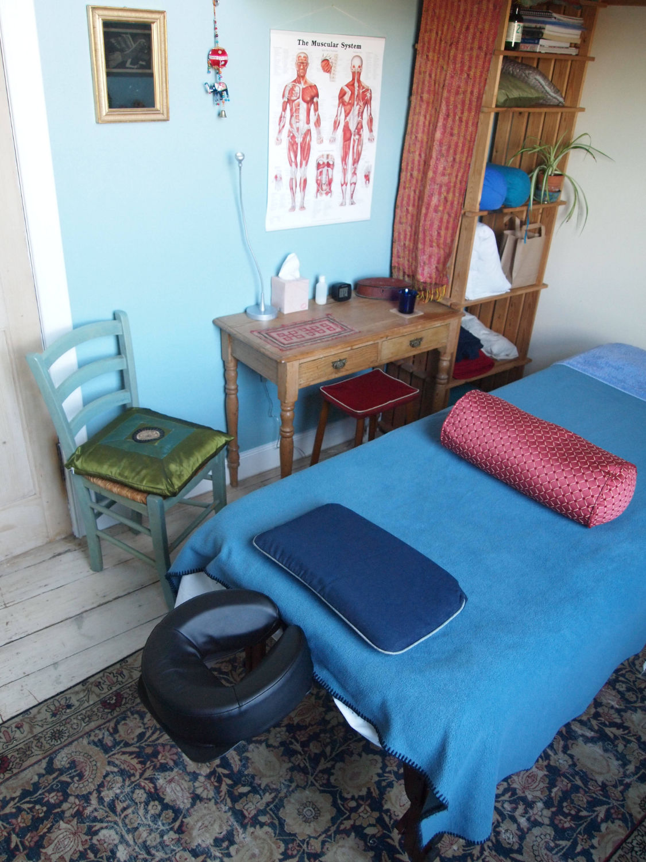 Holistic Massage Man - treatment room